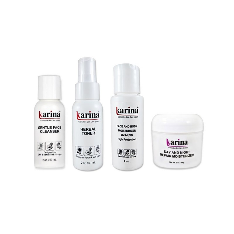 Travel Set for Sensitive Skin